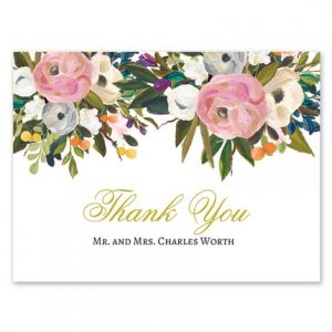 Pink Bloom Note Card