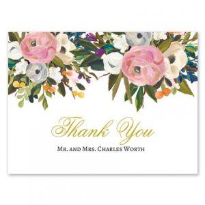 Pink Bloom Note Card