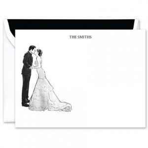 Happy Couple Flat Card