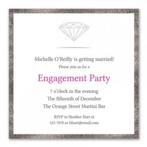 Bling Party Invitation