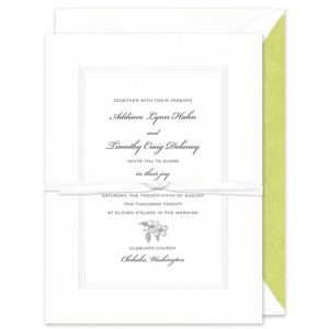 White Pantheon Invitation