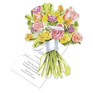 Spring Bouquet Invitation