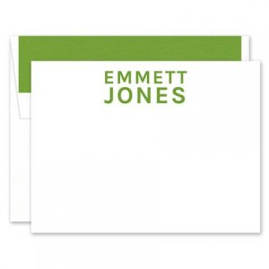 Simple White Flat Card