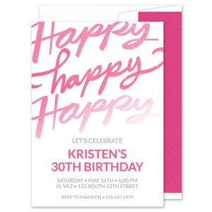Happy Day Invitation
