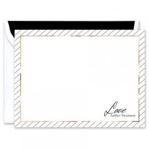 Amber Flat Card