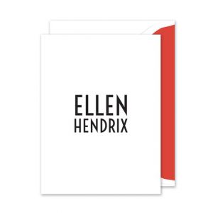 Hendrix Note Card