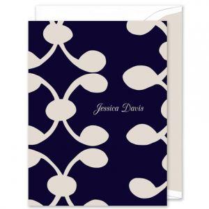 Celine Navy Note Card
