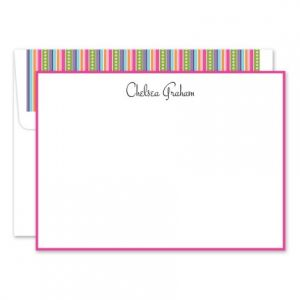 Multi-Colored Flat Card Set