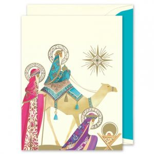 Three Wise Men Greeting Card