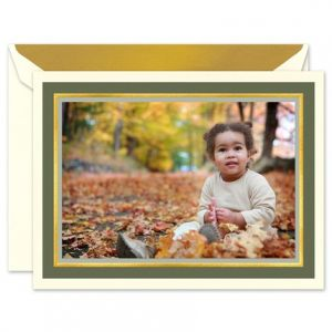 Woodland Mounted Photo Card