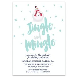 Jingle & Mingle Invitation