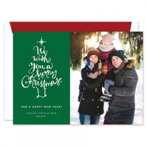 Christmas Wish Photo Card