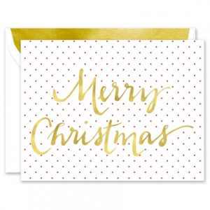 Holly Red Greeting Card
