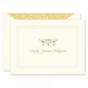 Ecru Pantheon Note Card
