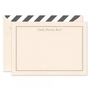 Blush Flat Note Card