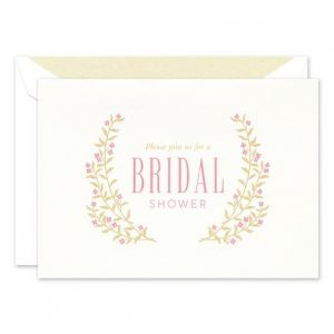 White Folded Invitation