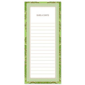 Kelly Green List Pad