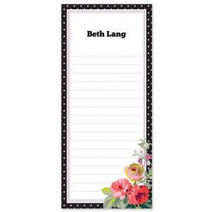 Polka Dot List Pad