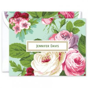 Garden Rose Note Card
