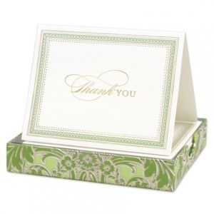 Green Foil Note Set