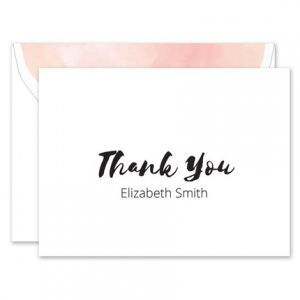 Brushstroke Note Card
