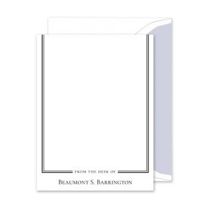 Beaumont Frame Flat Card