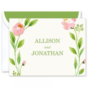 Botanical Wreath Note Card