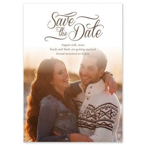 Scripted Save the Date