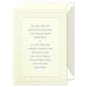 Pearl Hearts Invitation