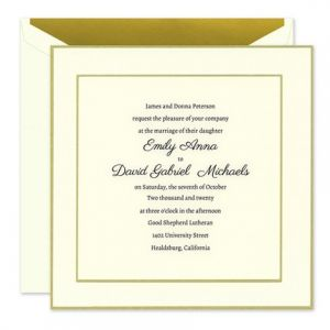 Double Dazzle Invitation