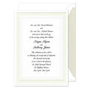 A Royal Frame Invitation