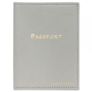 Gray Passport Cover