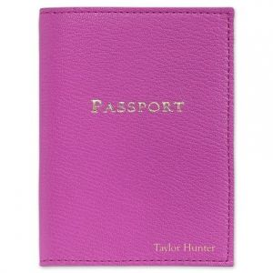 Orchid Passport Cover