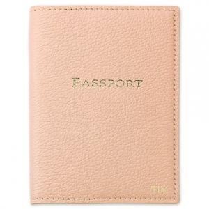 Blush Passport Cover