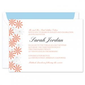 Floral Bunches Invitation