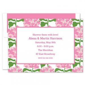 Sconset Pink  Invitation