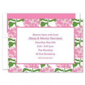 Sconset Pink  Invitation