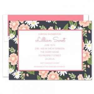 Lillian Floral Invitation