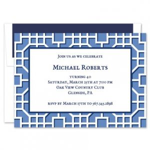 Fret Navy Invitation