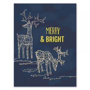 bright greeting card