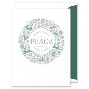 Peaceful Greeting Card