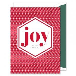 Joy Greeting Card