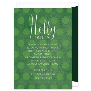 Green Dot Invitation