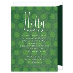 Green Dot Invitation