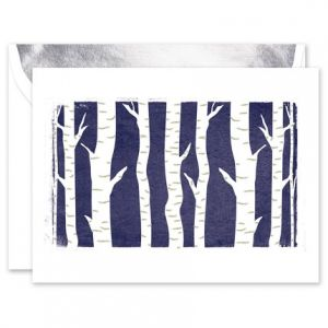 Birch Forest Greeting Card