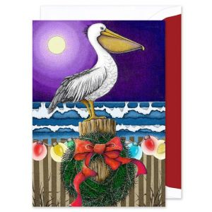 Pelican Greeting Card