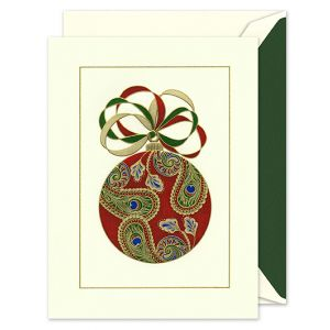 Paisley Ornament Greeting Card