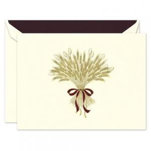 Harvest Wheat Greeting Card