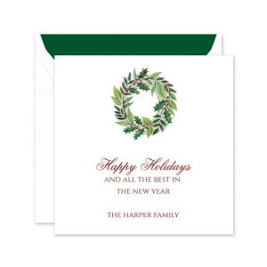 Personalized Business Christmas Cards Bed Bath Beyond