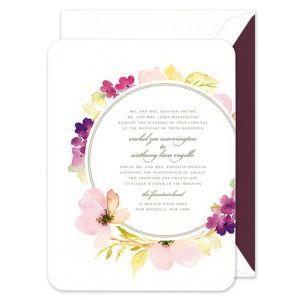 Flora Invitation